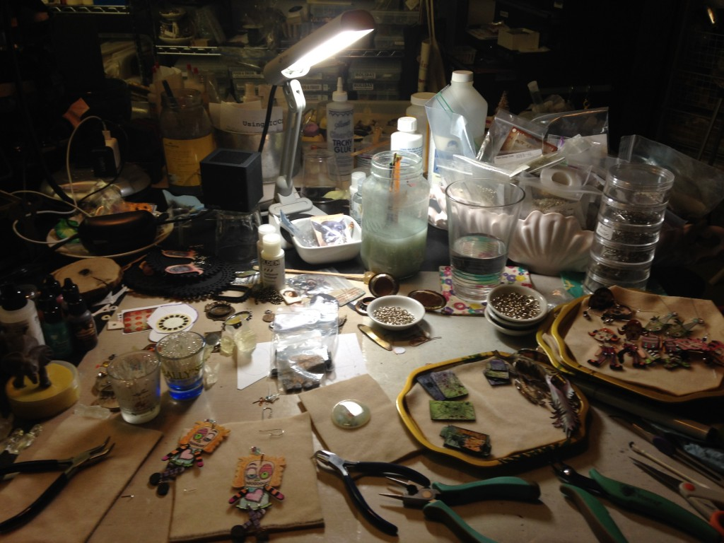 Seth Apter messy worktable 2