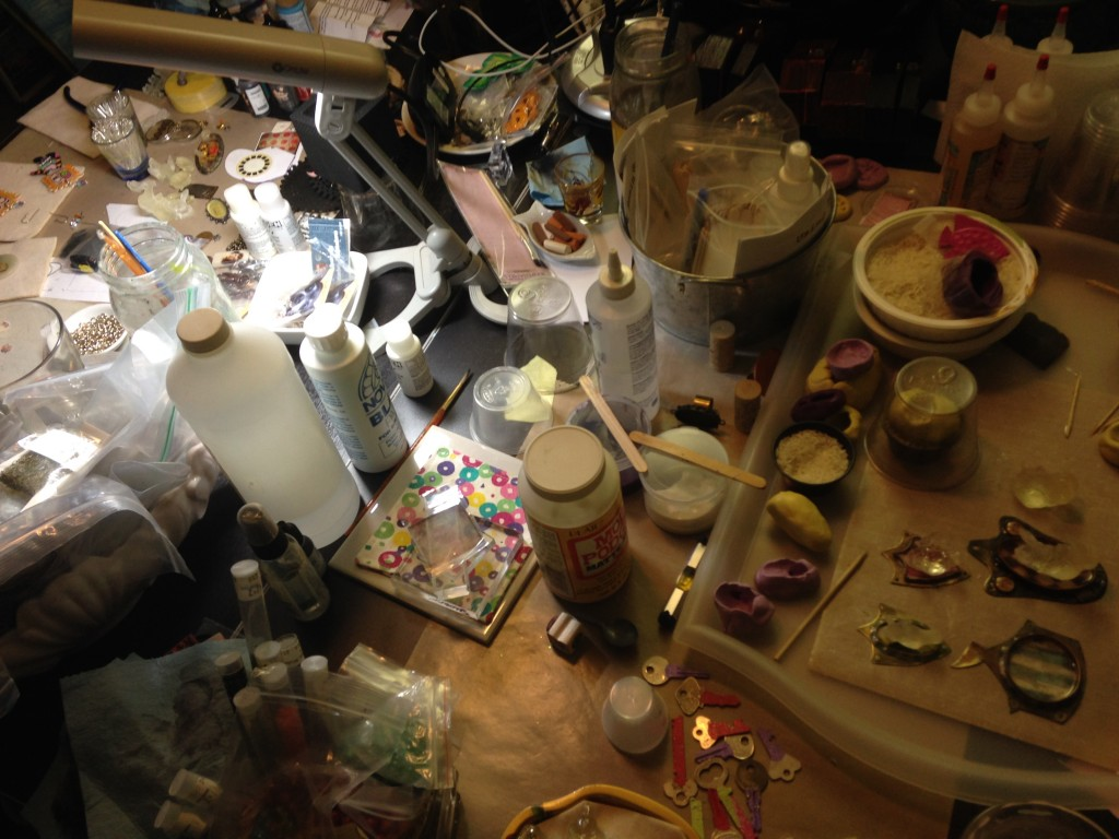 Seth Apter messy worktable 4